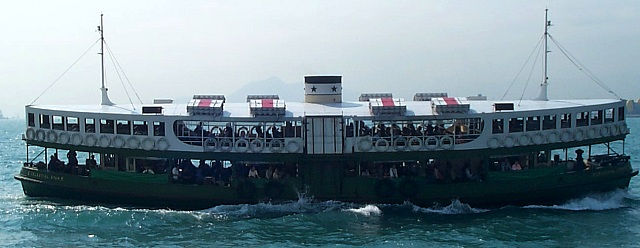 847 star ferry from star ferry: