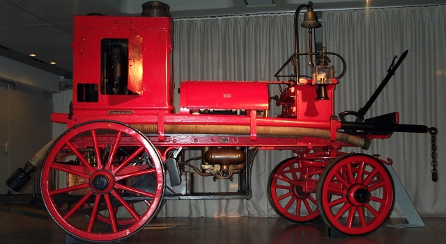 Mercedes fire engine: