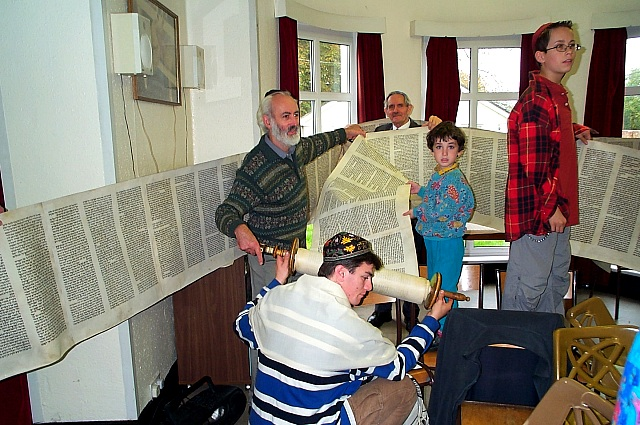 re-rolling the Torah: