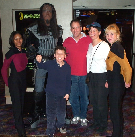 Star Trek Family Portrait: Us with some members of our <b>very</b> extended family.