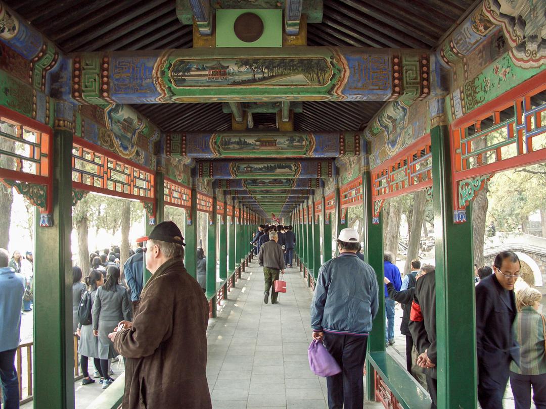 Long Corridor at Summer Palace, Beijing